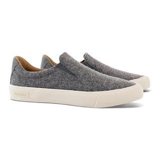 Flannel-Up:  Goodlife X Seavees Wool Slip On