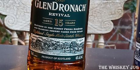 Glendronach 15 The Revival Label