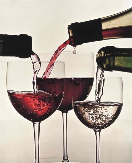 Three Wines Of France by Irving Penn