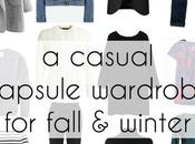 Casual Capsule Wardrobe Fall Winter