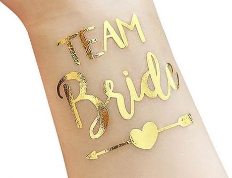 bachelorette party supplies tattoo