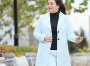 What Wore: Blue Skirt Suit