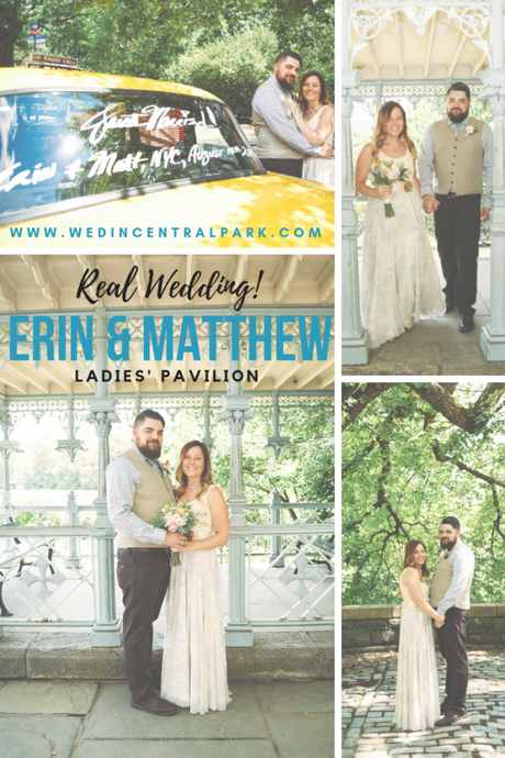 Erin and Matthew's Summer Ladies' Pavilion Wedding