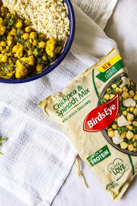 Birds Eye Pulses Vegan Chickpea & Spinach Mix