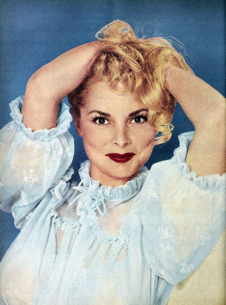 Boudoir Style in 1954 - Janet-Leigh-Nightie-1952