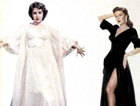 1950s-Fashion---Hollywood-Boudoir-Styles-in-1954