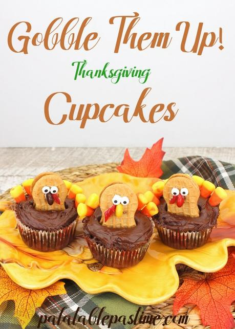 Gobble Them Up Cupcakes