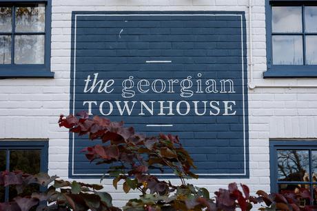 outside the georgian townhouse in norwich