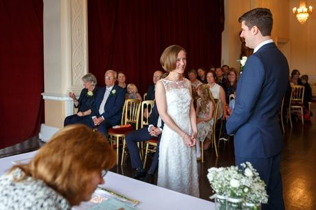 a trafalgar tavern wedding ceremony