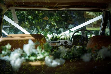 the wedding range rover