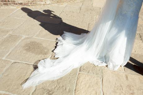 the brides shadow outside cley mill