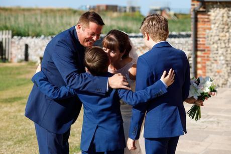 the family hug
