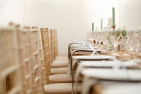detail shots inside a norfolk marquee wedding