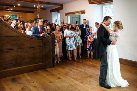 first dance at a pennard house wedding