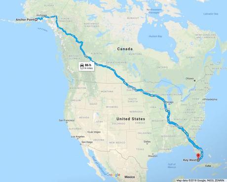 Ultrarunner Completes Alaska to Florida Journey on Foot