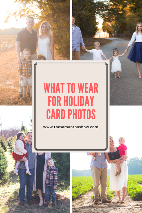 What to wear for holiday card photos
