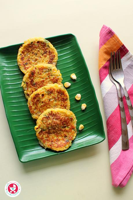Sweet corn fritters are crunchy bites with heavenly taste, which can be served from toddlers to elders.