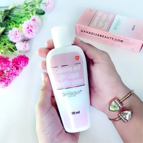 dermocalm lotion review, khadija beauty
