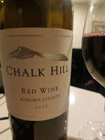 The Chalk Hill 2016 Sonoma Red Wine
