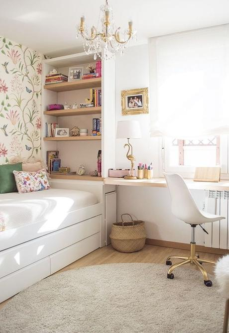20 Small Bedroom Ideas to Make Your Bedroom Looks Roomier