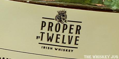 Proper Twelve Irish Whiskey is on par with Bushmills White, which makes sense since that's essentially what it seems to be.