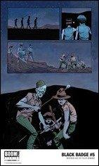 First Look: Black Badge #5 by Kindt & Jenkins (BOOM!)