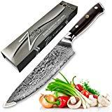ZELITE INFINITY Chef Knife 8 inch - Alpha-Royal...