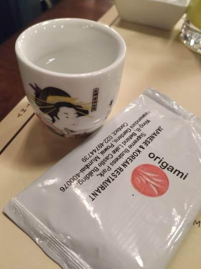 Japan in a plate – Origami Japanese & Korean Restaurant