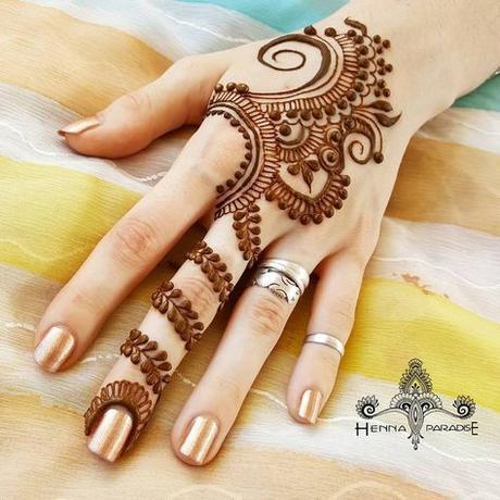 Latest Back Hand Mehndi Design Ideas Paperblog