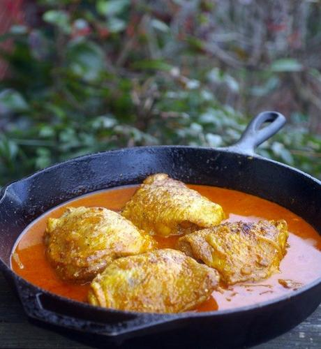Hungarian Chicken Paprikash for Elizabeth of Hungary