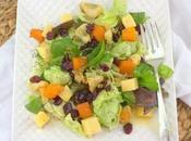 Roasted Apple Butternut Squash Salad #HolidaySideDishes