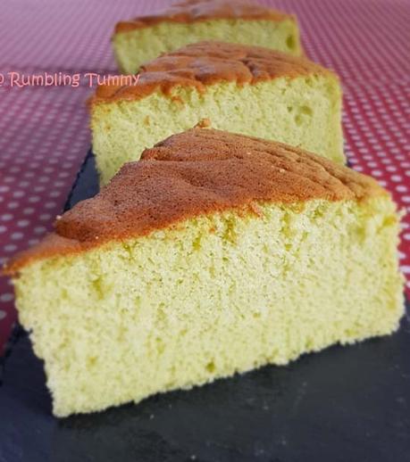 Pandan Sponge Cake