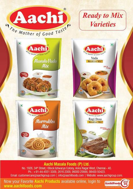 BUY READY TO COOK PRODUCTS ONLINE AT BEST PRICE IN AACHI MASALA FOODS PVT. LTD