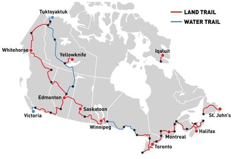 Canadian Becomes First to Hike the Length of The Great Trail