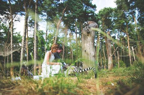 Yorkshire Wildlife Park Wedding, Doncaster - Nathan M Photography - 1
