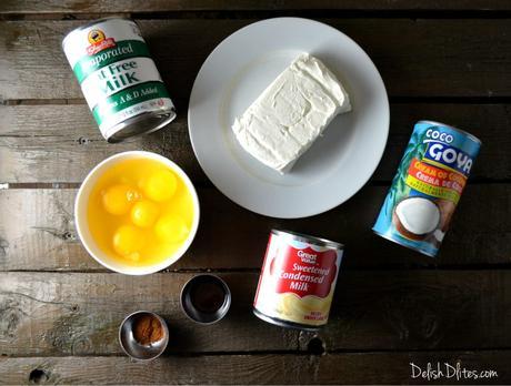 Coconut Cream Cheese Flan (Flan De Coco)