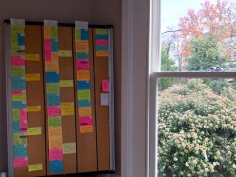 A Novel Process – the 'Re-type Draft'