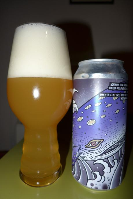 Tasting Notes:  Northern Monk: Finback: Patron's Project 3.05: Once, Twice, Three Times a Whale