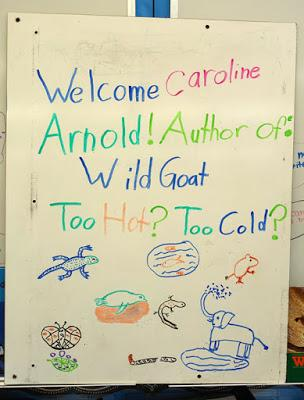 AUTHOR VISIT at ESPERANZA SCHOOL, Los Angeles, CA
