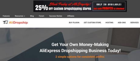 AliDropship Black Friday Cyber Monday Sale 2018 Upto 35% Off