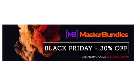 MasterBundles Black Friday Sale 2018 30% Off (Best Web Developers Deals)