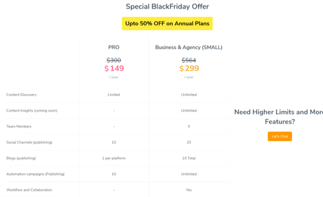 Content Studio & Replug Black Friday Cyber Monday Deal 2018 80% OFF
