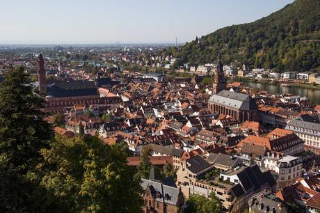 Grand Circle River Tour 6:   Heidelberg  [Sky Watch Friday]