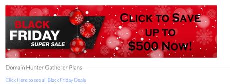 Domain Hunter Gatherer Black Friday Sale 2018 Save Upto $500