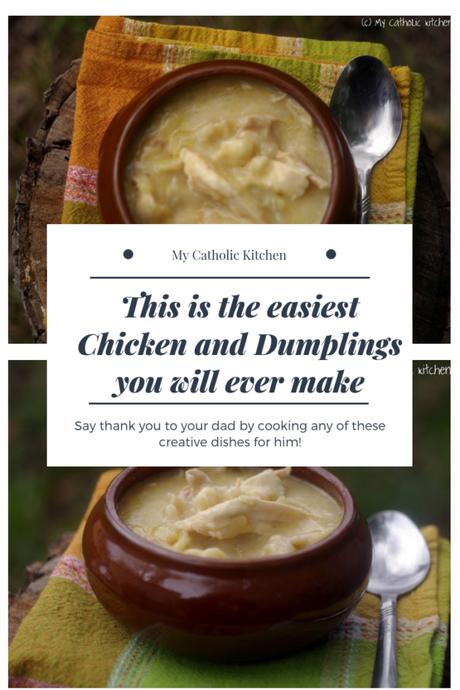 Easiest Chicken and Dumplings