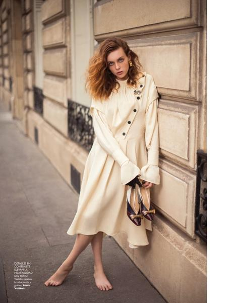 "Amelia Grace is ""Street Wise"" for Grazia by Benjamin Kanarek"