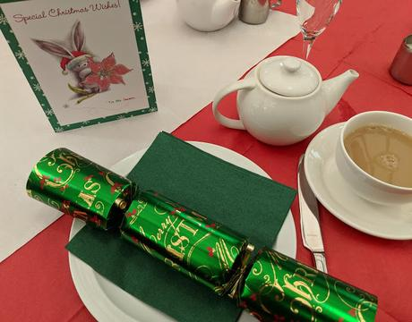 Christmas Afternoon Tea Wyevale Telford