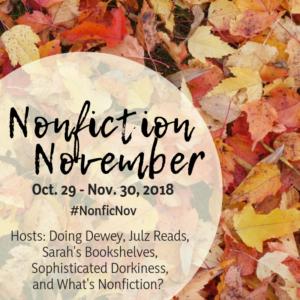 Nonfiction November Week 4: Reads Like Fiction