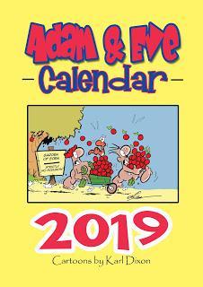Adam & Eve get their first calendar