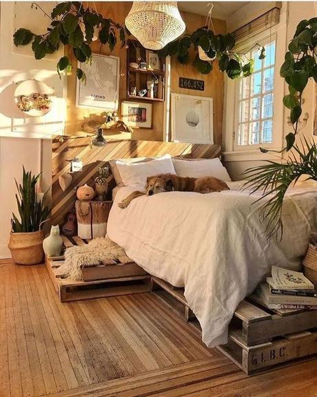 20 Rustic Bedroom Ideas for Creative People - Paperblog
